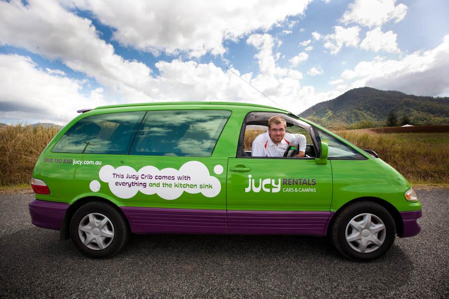 Jucy Rental Van